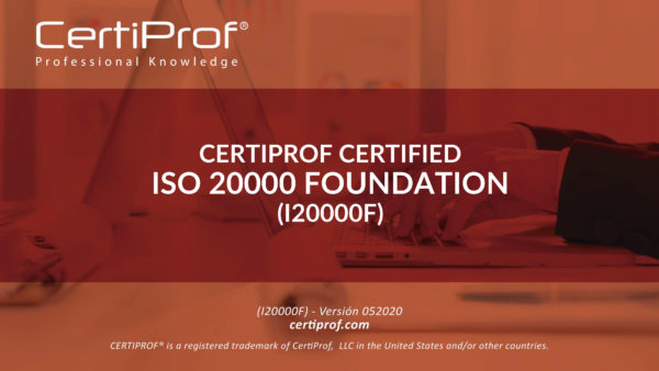 ISO 20000 Foundation Certificate (I20000F)